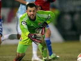 Stefan Marinovic, portero de Nueva Zelanda y futbolista amateur. FIFA