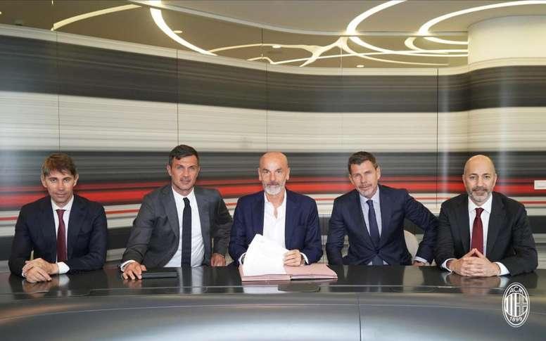 Milan, Pioli è il nuovo allenatore: è ufficiale. ACMilan