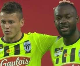 Bahoken silenció el estadio monegasco. Captura/beINSports