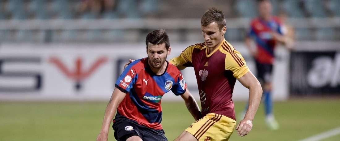 Stetina ha cambiado de equipo en la Liga Checa. SpartaPraga