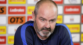 The Kilmarnock manager has hit out at referees. Twitter/KlimarnockFC