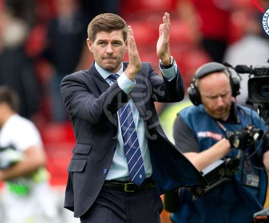 Gerrard could look to bring in another player before the  transfer window closes. Twitter/RangersFC