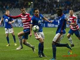 El delantero hizo su estreno goleador ante el Granada. LaLiga