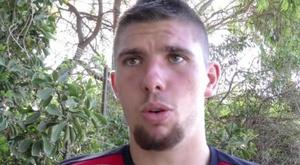 Steven Ribéry fue jugador del Apollon Larissa tan sólo durante unos días. LaVoixDuNord