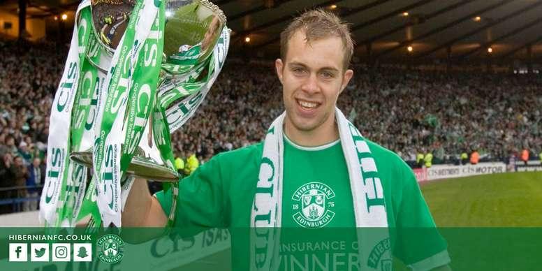 El jugador escocés quedó libre de su contrato con el Norwich. HibernianFC