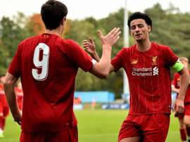 Paseo 'red' en la Youth League: ¡cinco goles al Nápoles en 23 minutos! LiverpoolFC