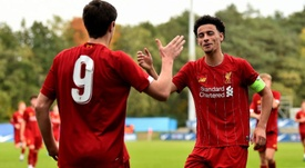 Paseo 'red' en la Youth League: ¡cinco goles al Nápoles en 23 minutos! LiverpoolFC
