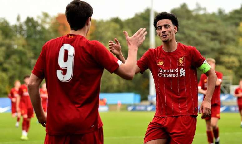 It was plain sailing for Liverpool against Napoli in the Youth League. LiverpoolFC