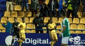 El Alcorcón encadena cinco partidos sin perder. LaLiga