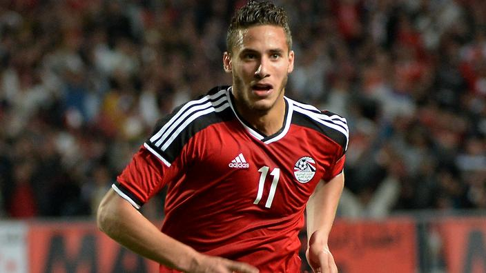 Rmadan Sobhi's transfer is almost completed. AFP