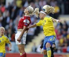 Suecia se ha metido en la siguiente ronda del Europeo. EFE/Archivo