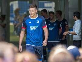Niklas Süle, defesa del Hoffenheim, é o novo objetivo do Chelsea. Achtzehn99