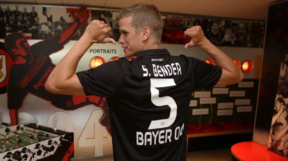 Sven Bender se ha convertido en un refuerzo para el Bayer Leverkusen. Bayer04Leverkusen