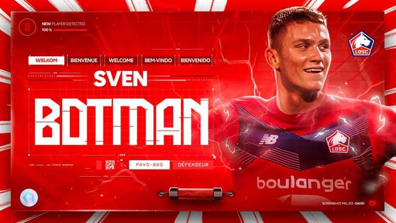 Botman has moved to Lille. LOSC