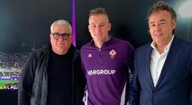 La Fiorentina anunció el fichaje de Zurkowski. ACFFiorentina