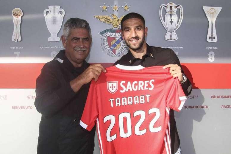 Taarabt renueva con el Benfica hasta 2022. SLBenfica