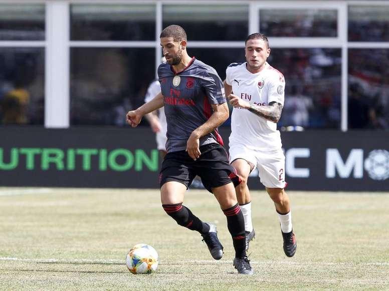 Taarabt decide ante el Milan. Captura/ESPN