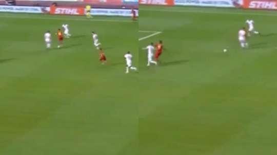 Hazard volvió a liderar a Bélgica. Youtube