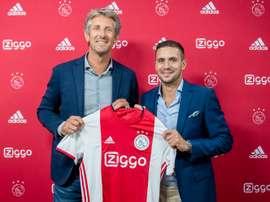 El Ajax renueva a Tadic. AFCAjax