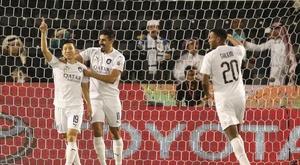 El Al Sadd de Xavi y Gabi arrolla para ser campeón de Copa. Twitter/AlSaddSC