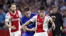 L'Ajax a pris une belle option. Twitter/AFCAjax