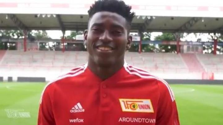 El Union Berlin sella el regreso de Taiwo Awoniyi. Twitter/FCUnion