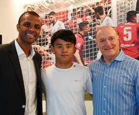 OFFICIAL: Takefusa Kubo loaned to Mallorca. RCDMallorca