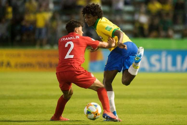 Talles Magno has been on the radar of the likes of Barca and Juventus. EFE