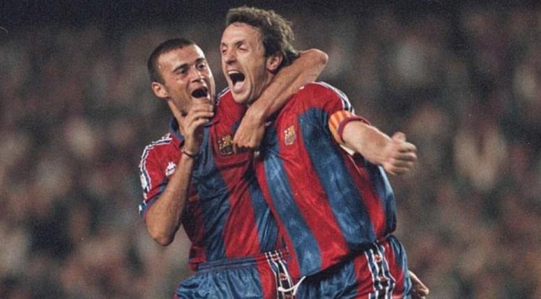 Por que Luis Enrique trocou o Real pelo Barça? EFE