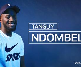 Tottenham contrata Ndombele. Twitter/SpursOfficial