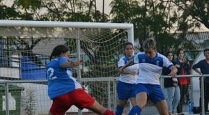 Tania Baños, en un partido con el Vall de Uxo. UDVallUxo