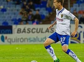 Tarsi, en un partido con el Zaragoza. ElDesmarque