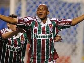 'Tartá', ex de Fluminense, jugará hasta final de temporada en el Bragantino. Twitter