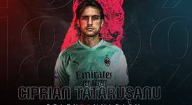 Ciprian Tatarusanu será o novo goleiro do Milan. AFP