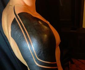 Joe Hart presumió de un tatuaje nada indiferente. Instagram/joehartofficial