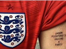 L'Angleterre disputent les demi-finales 28 ans après. Twitter/alfremontes