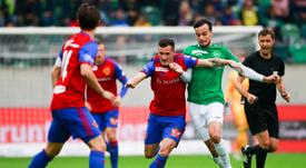 El Basilea no pudo con el Saint-Gallen. FCBasel1893