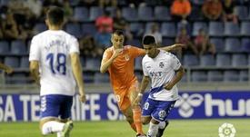 El Tenerife ha perdido en los tres últimos viernes que ha jugado. LaLiga