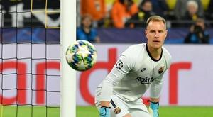 Ter Stegen tem mais assistências que Suárez, Sterling, Reus ou Aubameyang. AFP