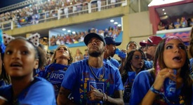 The carnival is a method of escape for Neymar. AFP