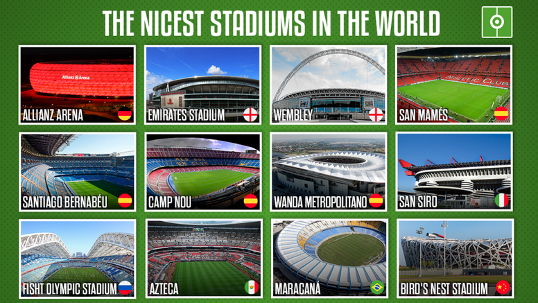 Stadiums are becoming more and more impressive. BeSoccer