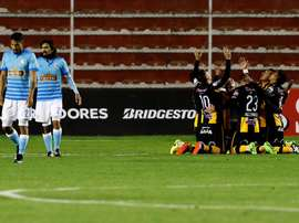 The Strongest goleó a Sporting Cristal. ClubStrongest