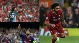 Barcelona, Bayern Munich and Liverpool  have all won each of their opening six fixtures. EFE/AFP