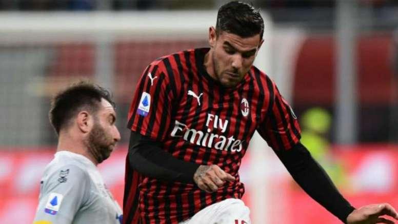 Theo lamentó no haber podido brillar en el Bernabéu. AFP