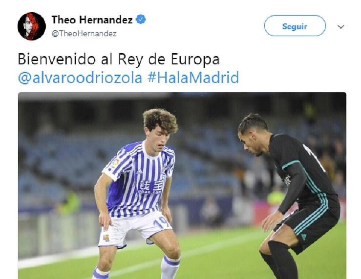 Maillot THIRD Real Madrid Odriozola