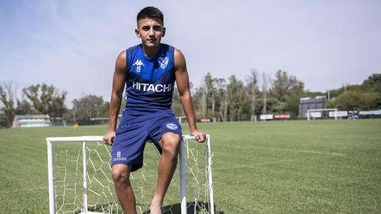 Thiago Almada could sign for Man City. Velez