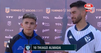 Thiago Almada brilló ante Aldosivi y se acordó de Pratto