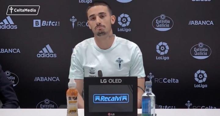 Galhardo fue presentado. Captura/CeltaDeVigo