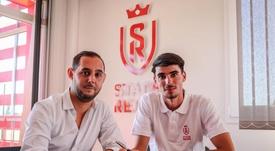 De Smet has signed for Reims. Twitter/StadeDeReims