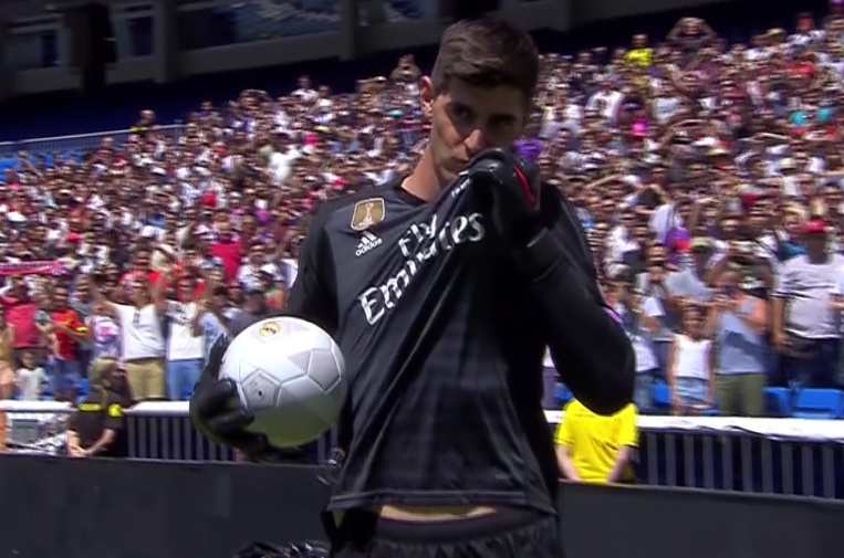 What could Thibaut Courtois's arrival mean for Keylor Navas at Madrid? Captura/RealMadridTV